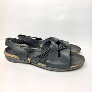 Keen Dauntless Strappy II Sandals Leather Black 9
